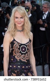 CANNES, FRANCE. May 23, 2017: Nicole Kidman at the 70th Anniversary Gala for the Festival de Cannes