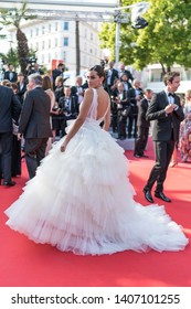 "CANNES, FRANCE - MAY 23, 2019:  Marta Lozano attends the screening of ""The Traitor"" during the 72nd annual Cannes Film Festival"