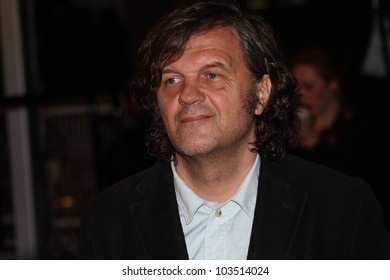 CANNES, FRANCE - MAY 23: Emir Kusturica attends the 'Holy Motors' Premiere during the 65th Annual Cannes Film Festival at Palais des Festivals on May 23, 2012 in Cannes, France.