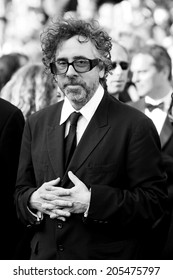 CANNES, FRANCE - MAY 23: Jury President Tim Burton attends the Palme d'Or Closing Ceremony during the 63rd Cannes Film Festival on May 23, 2010 in Cannes, France.