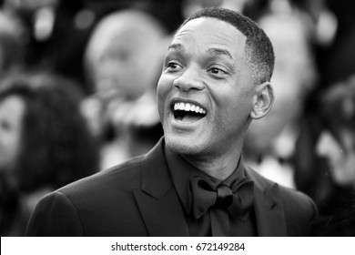 CANNES, FRANCE - MAY 23: Will Smith attends the 70th Anniversary during the 70th annual Cannes Film Festival on May 23, 2017 in Cannes, France.