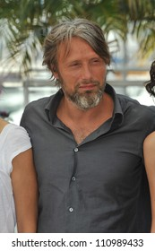 "CANNES, FRANCE - MAY 24, 2009: Mads Mikkelsen at the photocall for his movie ""Coco Chanel & Igor Stravinsky"" at the 62nd Festival de Cannes."