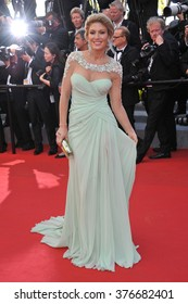 CANNES, FRANCE - MAY 24, 2014: Hofit Golan at the gala awards ceremony at the 67th Festival de Cannes.