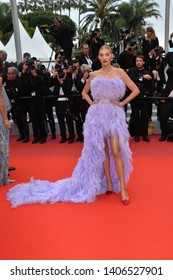 """CANNES, FRANCE. May 24, 2019: Elsa Hosk  at the gala premiere for """"Sybil"""" at the Festival de Cannes.Picture: Paul Smith / Featureflash"""