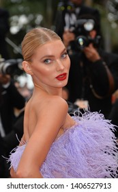 "CANNES, FRANCE. May 24, 2019: Elsa Hosk  at the gala premiere for ""Sybil"" at the Festival de Cannes.