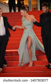 """CANNES, FRANCE. May 24, 2019: Adele Exarchopoulos  at the gala premiere for """"Sybil"""" at the Festival de Cannes.Picture: Paul Smith / Featureflash"""