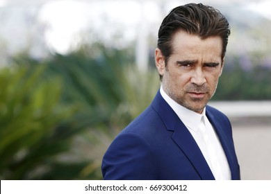 CANNES, FRANCE - MAY 24: Actor Colin Farrel attends the photo-call of the film 'The Beguiled' during the 70th Cannes Film Festival in Cannes, France on May 24, 2017.