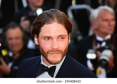 CANNES, FRANCE - MAY 24: Daniel Bruhl attend the Closing Ceremony and 'A Fistful of Dollars' Screening during the 67th Annual Cannes Film Festival on May 24, 2014 in Cannes, France.