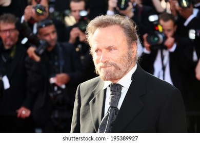 CANNES, FRANCE - MAY 24:  Franco Nero attends the Closing Ceremony and 'A Fistful of Dollars' Screening during the 67th Cannes Film Festival on May 24, 2014 in Cannes, France.