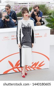 """CANNES, FRANCE - MAY 24: Paz Vega attends the photo-call for the movie """"Rambo V"""" during the 72nd Cannes Film Festival on May 24, 2019 in Cannes, France."""