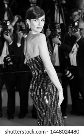 """CANNES, FRANCE - MAY 24: Paz Vega attends the premiere of """"Rambo V Last Blood"""" during the 72nd Cannes Film Festival on May 24, 2019 in Cannes, France."""
