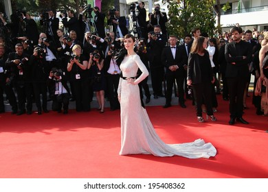 CANNES, FRANCE - MAY 24:  Paz Vega attend the Closing Ceremony and 'A Fistful of Dollars' Screening during the 67th Annual Cannes Film Festival on May 24, 2014 in Cannes, France.