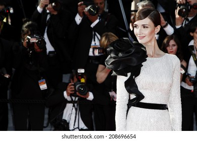 CANNES, FRANCE - MAY 24: Paz Vega attends the closing ceremony during the 67th Annual Cannes Film Festival on May 24, 2014 in Cannes, France.