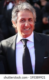 CANNES, FRANCE - MAY 24: Richard Anconina attends the Closing Ceremony and 'A Fistful of Dollars' Screening during the 67th Cannes Film Festival on May 24, 2014 in Cannes, France.