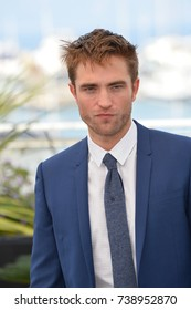 "CANNES, FRANCE. May 25, 2017: Robert Pattinson at the photocall for ""Good Time"" at the 70th Festival de Cannes"