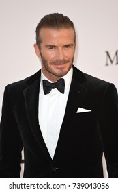 CANNES, FRANCE. May 25, 2017: David Beckham at the 24th amfAR Gala Cannes at the Hotel du Cap-Eden-Roc, Antibes