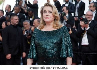 CANNES, FRANCE - MAY 25: Catherine Deneuve attends the closing ceremony of the 72nd Cannes Film Festival on May 25, 2019 in Cannes, France.