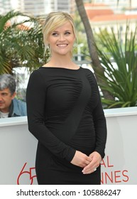 """CANNES, FRANCE - MAY 26, 2012: Reese Witherspoon at the photocall for her new movie """"Mud"""" in competition at the 65th Festival de Cannes. May 26, 2012  Cannes, France"""