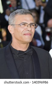 CANNES, FRANCE - MAY 26: Abdellatif Kechiche attends the Premiere of 'Zulu' and the Closing Ceremony of The 66th  Cannes Film Festival at Palais on May 26, 2013 in Cannes, France.