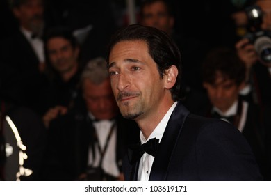CANNES, FRANCE - MAY 27: Adrien Brody attends the Closing Ceremony and the 'Therese Desqueyroux' Premiere during the 65th  Cannes Festival at Palais on May 27, 2012 in Cannes, France