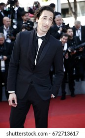 CANNES, FRANCE - MAY 27: Adrien Brody attends the 'Based On A True Story' premiere during the 70th Cannes Film Festival on May 27, 2017 in Cannes, France.
