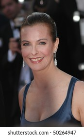 CANNES, FRANCE - MAY 27: Carole Bouquet attends the Palme d'Or award ceremony during Cannes Film Festival on May 27, 2007 in Cannes, France.
