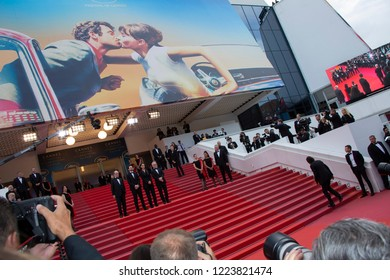Cannes, France, May 9, 2018, general view the screening of 'Yomeddine' during the 71st annual Cannes Film Festival at Palais des Festivals.