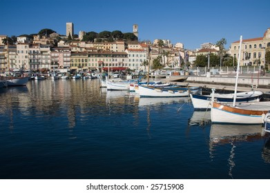 Cannes Harbor, French Riviera