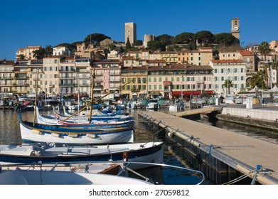 Cannes harbor, South France