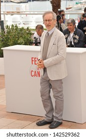 Cannes Jury President Steven Spielberg at the photocall for the Jury of the 66th Festival de Cannes. May 15, 2013  Cannes, France