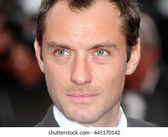 CANNES - MAY 11, 2011: Jude Law seen at the Cannes Film Festival on May 11, 2011 in Cannes