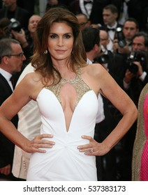 CANNES - MAY 15, 2013: Cindy Crawford attends the opening Ceremony And The Great Gatsby Premiere - The Annual Cannes Film Festival on May 15, 2013 in Cannes