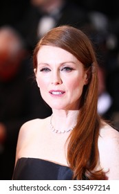 CANNES - MAY 15, 2013: Julianne Moore attends The Great Gatsby Premiere - The Annual Cannes Film Festivalat Palais des Festivals on May 15, 2013 in Cannes