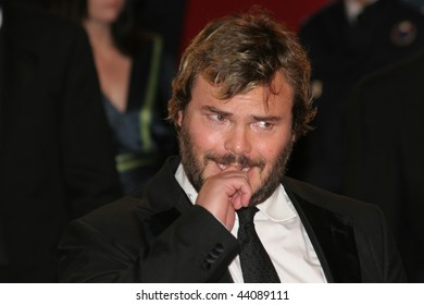 CANNES - MAY 15:Actors Jack Black and attends the 'Kung Fu Panda' premiere at the Palais des Festivals during the 61st Cannes International Film Festival on May 15, 2008 in Cannes, France