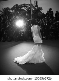 CANNES - MAY 18, 2013: ( Image digitally altered to monochrome ) Paz Vega attends the Jimmy P. Psychotherapy Of A Plains Indian premiere during The 66th Annual Cannes Film Festival