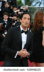 CANNES - MAY 21, 2013: Adrien Brody attends the Behind the Candelabra Premiere - The 66th Annual Cannes Film Festival on May 21, 2013 in Cannes