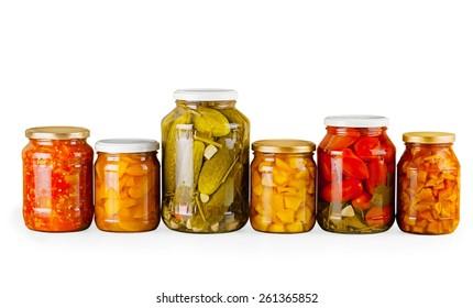 Canning, Jar, Food.