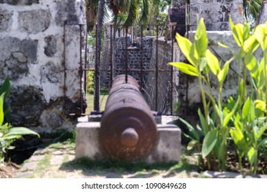 Cannon at Fort San Pedro in Cebu city, Philippines