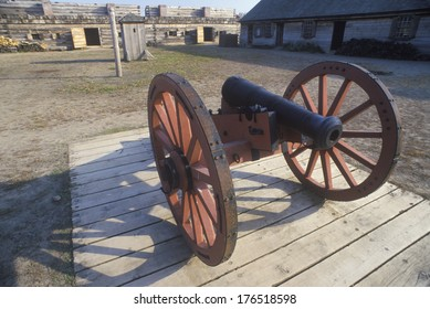 Cannon at Fort Stanwix National Monument, Rome NY
