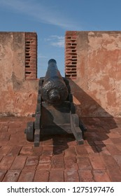 cannon and old castle
