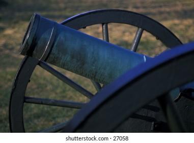 Cannon on Antietam (Sharpsburg) Civil War battlefield, near Sharpsburg, Maryland