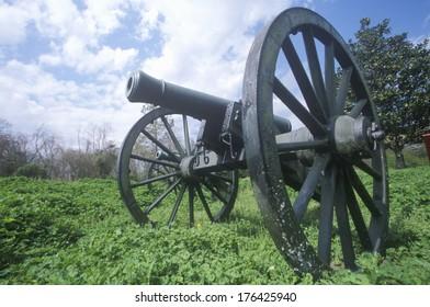 Cannon at Vicksburg National Military Park, Mississippi