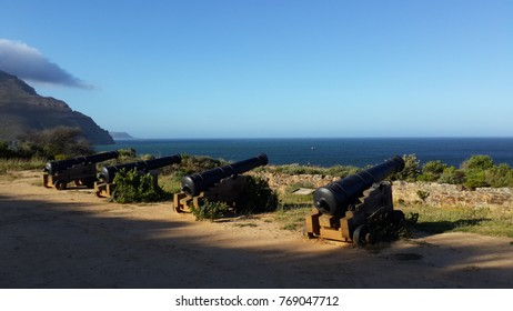 Cannons at Eastern Fort, Hout Bay, Western Cape, South Africa