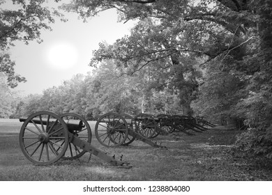 Cannons at Shiloh