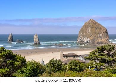 Canon Beach Real estate and coastal living Oregon coast.