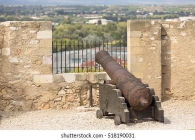 Canon of the Castle of Tortosa, Catalonia, Spain