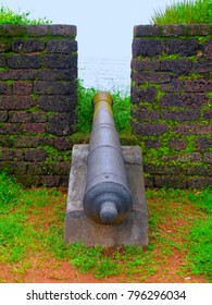 Canon at St. Angelo fort, Kannur