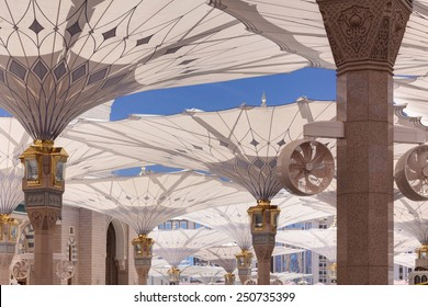 Canopies at Nabawi