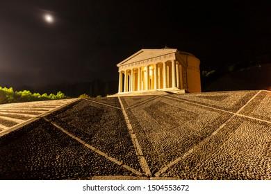 The Canova's Temple in Possagno