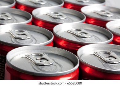 A lot of cans